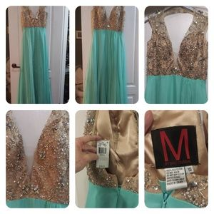 Macduggal evening gown size 12